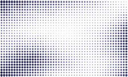 Digital gradient with points. Abstract futuristic panel. Dotted Backgound. Monochrome halftone pattern. Grunge  backdrop with circles, dots, point. Vector illustration