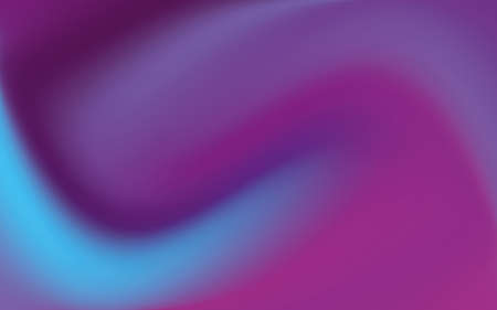 Wavy gradient background. Color, ultraviolet smoke. A blurred pattern. Bright backdrop for screensavers, websites, posters, mobile applications. Vector illustration
