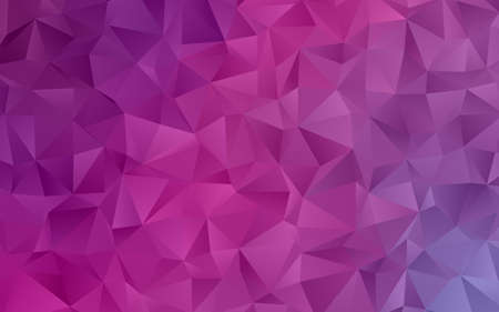 Light pink-purple abstract mosaic pattern. Vector illustration. A sample with polygonal gradient shapes. Modern minimalistic style for your business design, covers, banners, web backgrounds, posters.