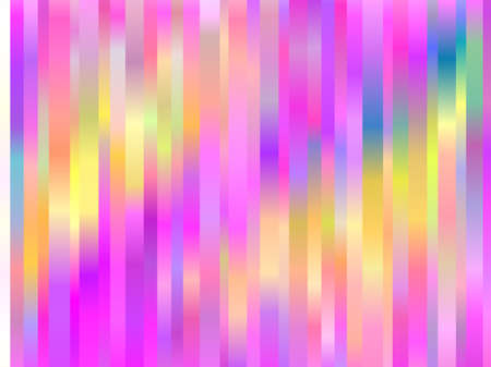 Rainbow aurora borealis. Abstract colorful background. Bright striped pattern Vector illustration Illustration