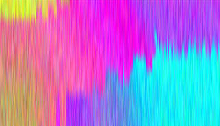 Shining lines, stripes. Abstract Northern lights, serpentine. Bright gradient background with shimmering. Metal surface. Vector illustration