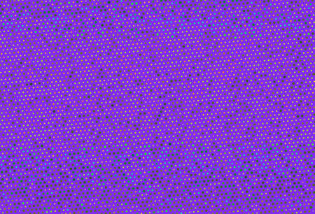 Shimmering dots on purple background. Bright festive pattern. Abstract backdrop with halftone effect Vector illustration Ilustração