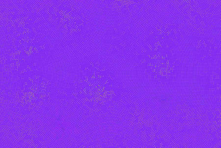 Shimmering dots on purple background. Bright festive pattern. Abstract backdrop with halftone effect Vector illustration Illustration