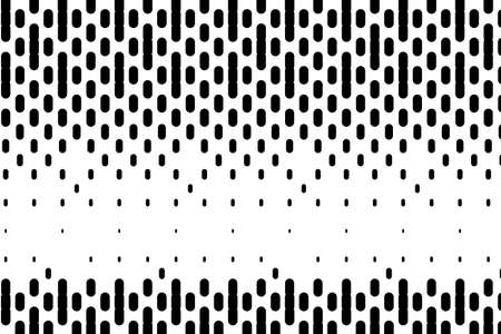 Background with lines. Halftone effect. Digital gradient. Minimalistic, dynamic stale. Black and white vector illustration.