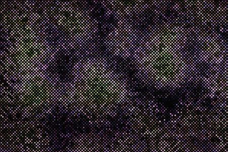 Bright, twinkling stars on a dark background. Vector illustration. Illustration