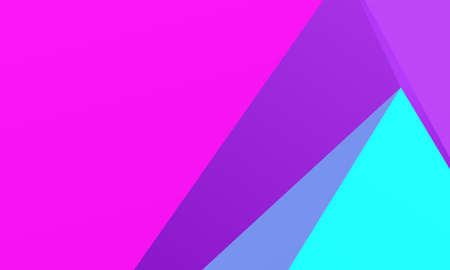 Colorful background with triangles Simple geometric background with gradient shapes. Vector illustration Triangles of different scale, size and shape.