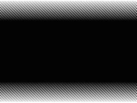 Black and white pattern with Lines of variable thickness. Halftone effect line background. Vector illustration