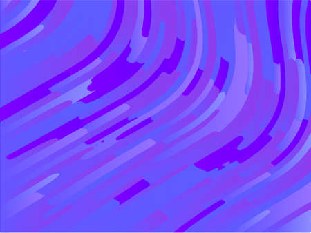 Wavy geometric background. Different shades of purple, pink, blue. Bright rainbow color. Scalable vector graphics. Trendy gradient shapes composition.