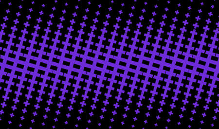 Dark purple background with criss-crosses. Abstract pattern in minimalist style. Scalable vector graphics. Illustration