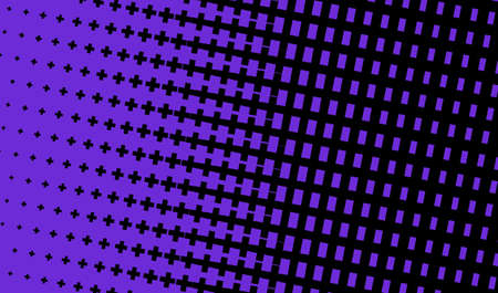 Dark purple background with criss-crosses. Abstract pattern in minimalist style. Scalable vector graphics. Stock Illustratie