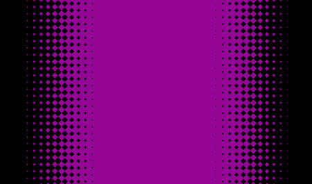 Abstract geometric pattern with small squares. Design element for web banners, posters, cards, wallpapers, backdrops, panels Black and purple color Vector illustration