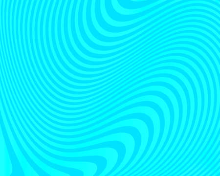 Abstract pattern. Texture with twisted, wavy, curves lines. Optical art background. Wave design blue color. Digital image with a psychedelic stripes. Vector illustration