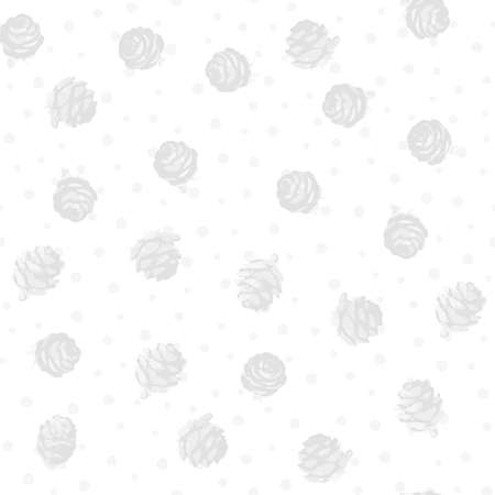 Winter seamless pattern. Christmas wallpapers, background for printing on paper, scrapbooking, patchwork, fabric, gift wrap. Vector illustration
