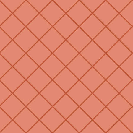 Geometric seamless pattern with intersecting lines, grids, cells. Criss-cross background in traditional tile style. For printing on fabric, paper, wrapping, scrapbooking, banners Vector illustration 向量圖像