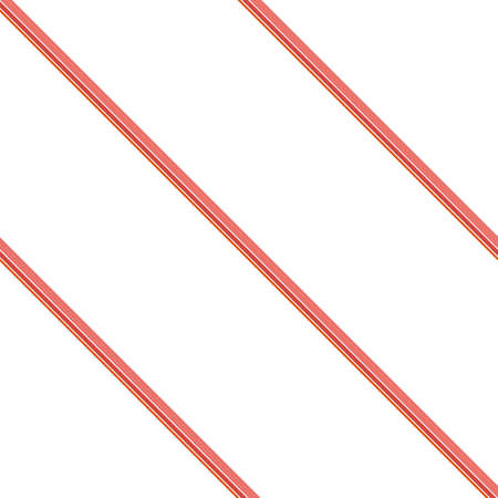 Seamless pattern. Coral Stripes on white background. Striped diagonal pattern For printing on fabric, paper, wrapping, scrapbooking, websites, banners Background with slanted lines Vector illustration