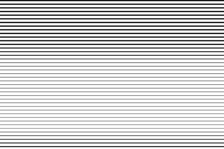 Black and white Line halftone pattern with gradient effect.Straight stripes. Parallel direct monochrome pattern Template for backgrounds and stylized textures. Vector illustration