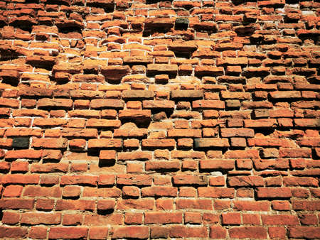 Red Brickwork, the wall of the ancient Teutonic castles.
