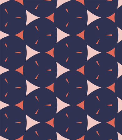 Fashionable blue and pink colors on texture design. Ilustrace