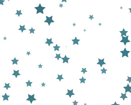 Modern blue, great design for any purposes. Christmas abstract pattern with stars. Vector banner. Simple element illustration. Modern web template. Sign, symbol, element.