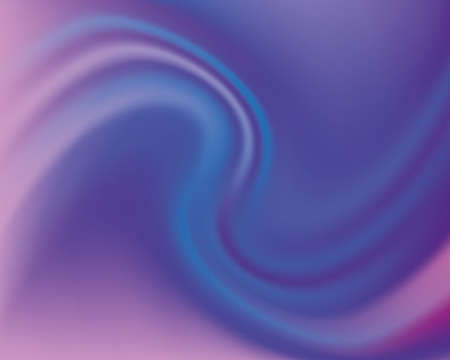 Dynamic background with undulating swirling pattern. Pink and purple. Vector illustration