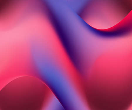 Trendy card with vivid gradient on light background. Digital glowing effect. Vivid gradient. Trendy cover design. Glowing neon light. Summer holographic background. Vector neon background. Standard-Bild - 140358107