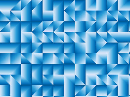 Blue gradient shapes. Background abstract pattern. Vector illustration. Ilustrace