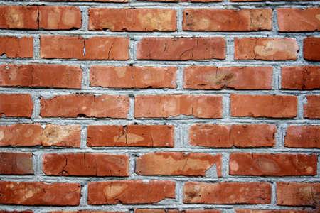constraction: Brickwall in Ukrainian village