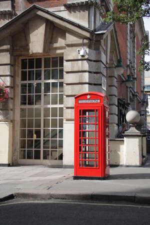 cabina telefonica: cabina telef�nica Foto de archivo