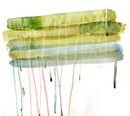 daub: Abstract watercolor background