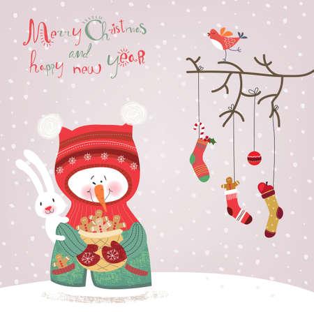 Greeting card  Illustration
