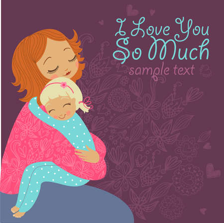 much: I love you so much Illustration