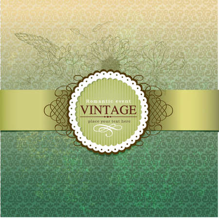 art product: Vintage vector labels  Illustration