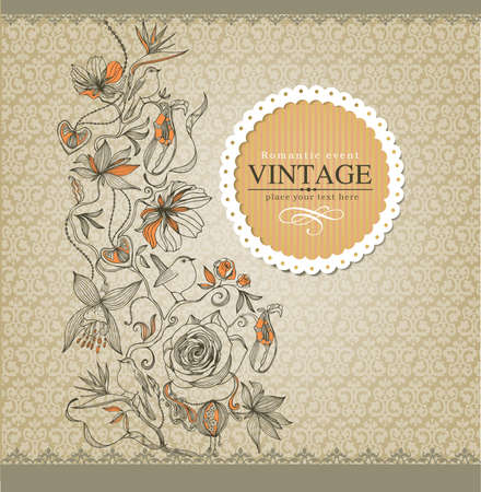Vintage border Stock Vector - 16572206