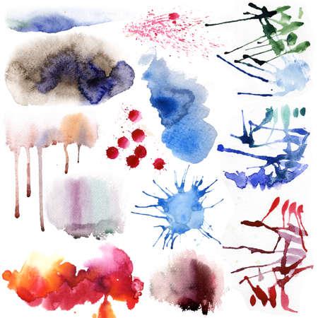 Watercolor set Standard-Bild
