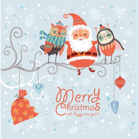 Weihnachtskarte Standard-Bild - 23103819