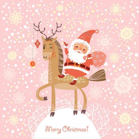 Weihnachtskarte Standard-Bild - 23103838