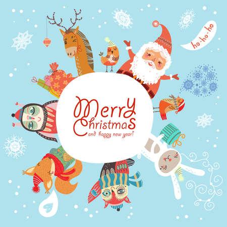 Merry Christmas Stock Vector - 24440882