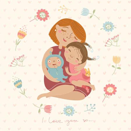 familias unidas: Te quiero tanto