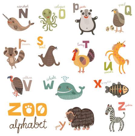 zoo: ABC Illustration