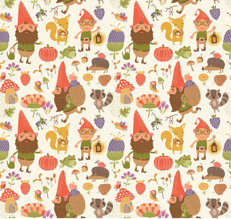 gnome: Seamless pattern