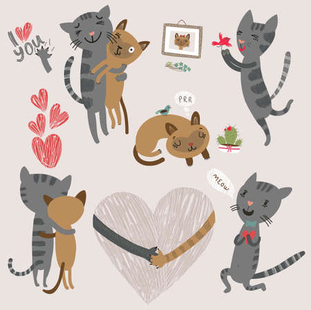 all seasons: Cats in love