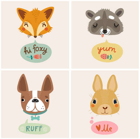 conceptual cute: Cute animal