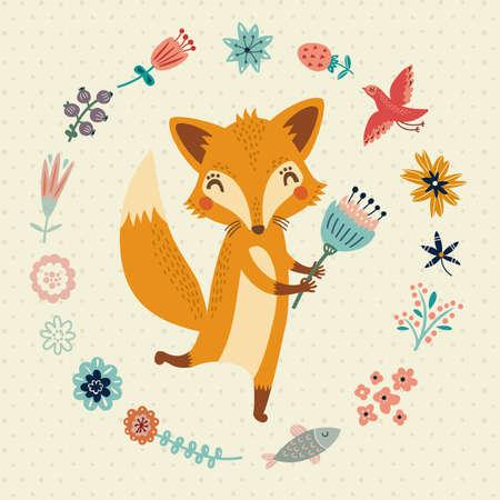 Nette Foxy Standard-Bild - 37478578