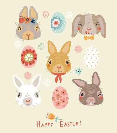 Happy Easter! Stock Vector - 37478581