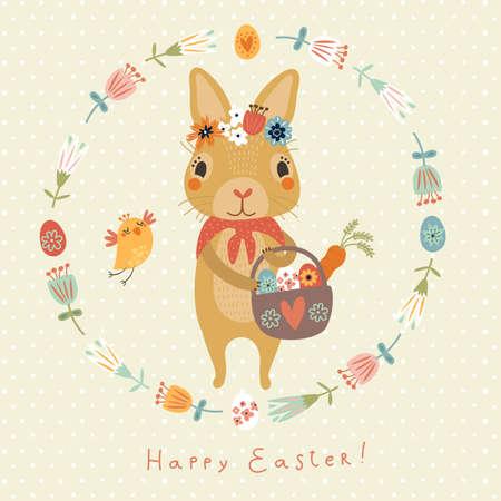lapin: Joyeuses Pâques! Illustration
