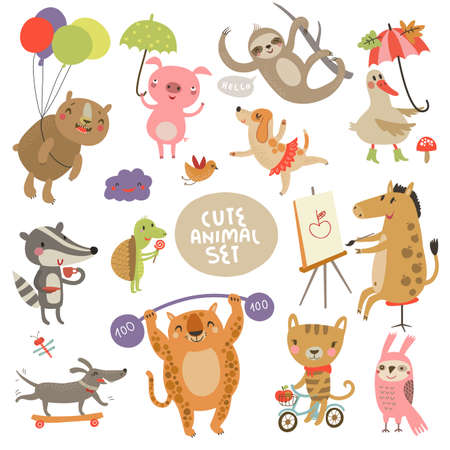animais: Jogo do animal Ilustração