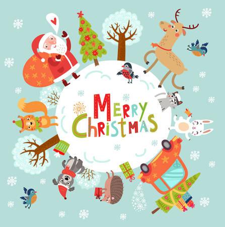 christmas card 版權商用圖片 - 88150091