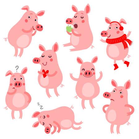 Cute Pig set