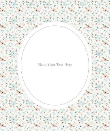 Floral background pattern vector illustration design. Illustration