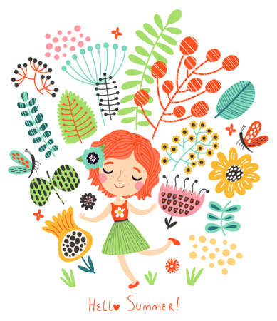 floral background Standard-Bild - 101533325